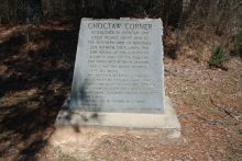 Choctaw Crossing Places on the Tombigbee River