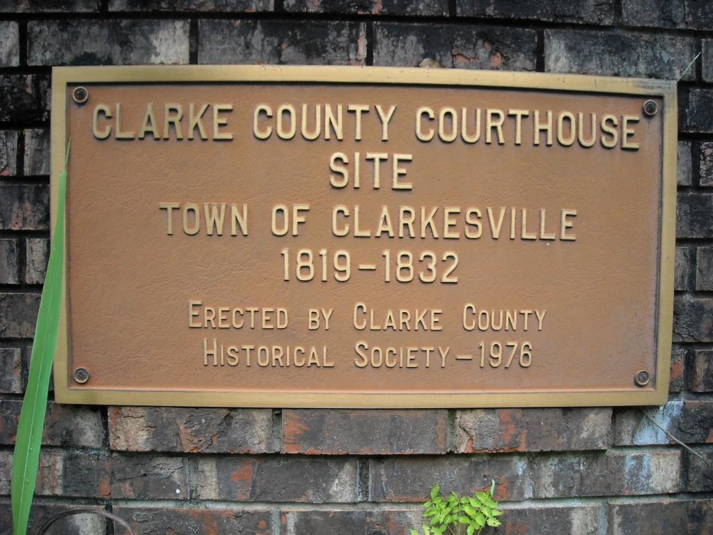 Clarkesville1 marker
