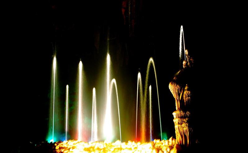 De soto caverns light show