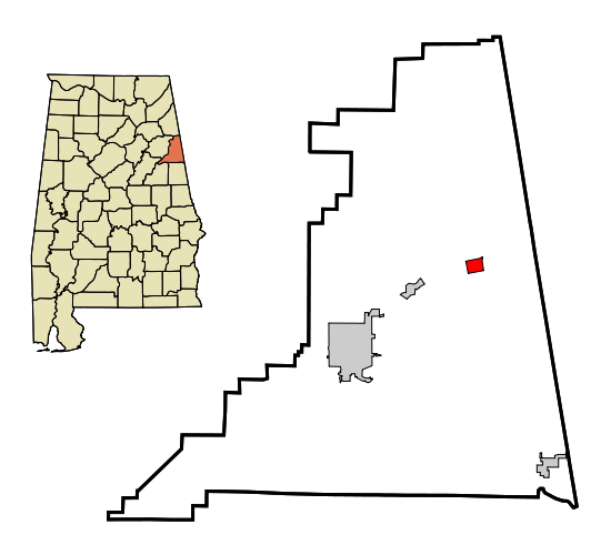 Fruithurst map