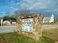 The small town of Fruithurst was once the center of the wine Vineyard Colony in Alabama