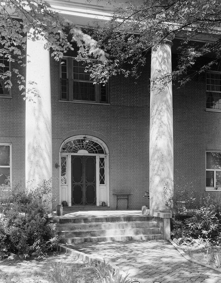 Gov. Thomas Bibb House, Bella Mina, Limestone County, Alabama 1939 by Photographer Benjamin Frances Johnston
