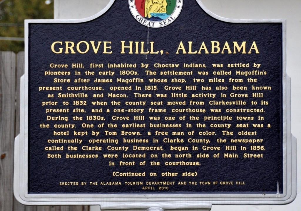 GroveHillmarker