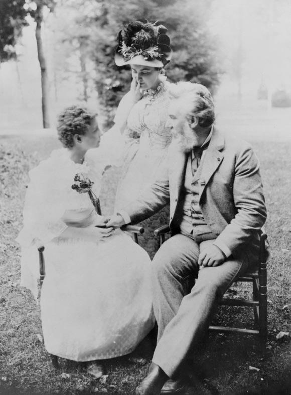 Helen Keller, Alexander Graham Bell and Anne Sullivan