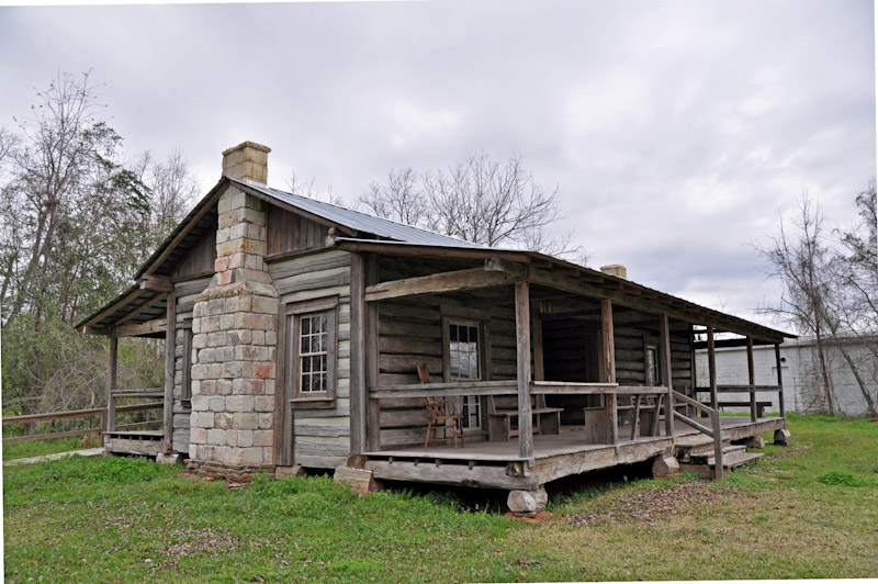 Clarke county alabama citizens are like their early for Log cabin builders in alabama
