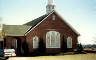 Pea River Presbyterian Church by MV Poarch