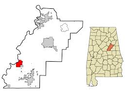 Talladega county map