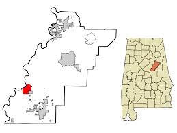 Talladega county map