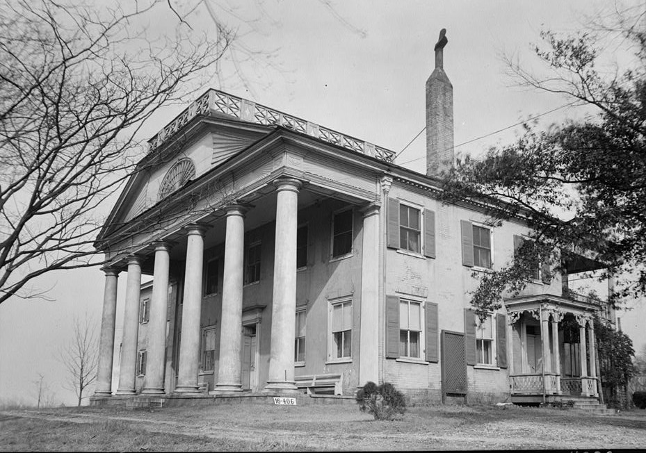 W. N. Manning, Photographer, April 25, 1934 col. Leroy Pope house