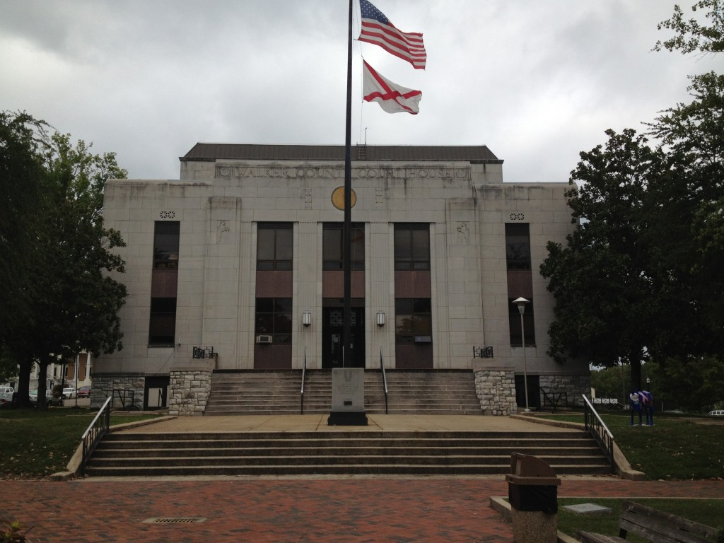 Walker County Courthouse in Jasper, Ala.