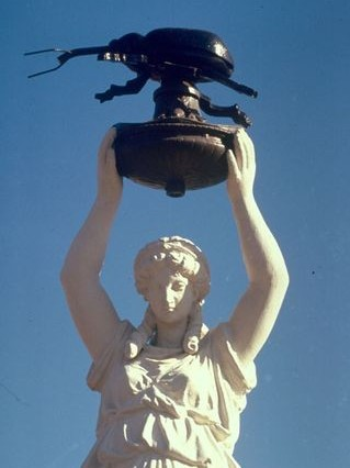 The city of Enterprise, Alabama dedicated a monument to an insect on Dec. 11, 1919