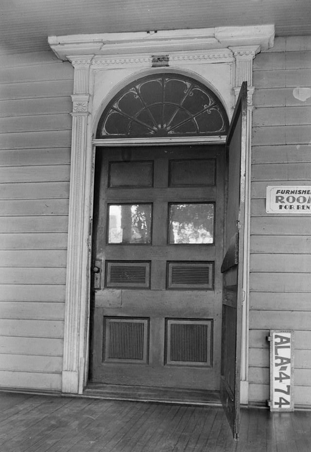burritt house front door