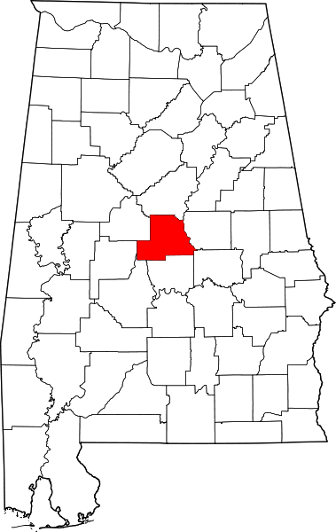 chilton county map