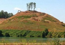 Many Native American Mounds in Counties in Alabama found in 1901