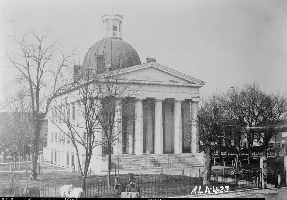 old court house from love photograph