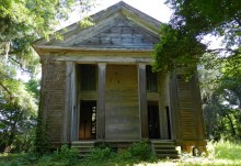 Presbyterian Church moved south to Alabama {old pics of church built in 1853}