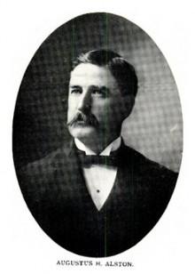 Biography: Augustus Holmes Alston born November 17, 1847 – photograph