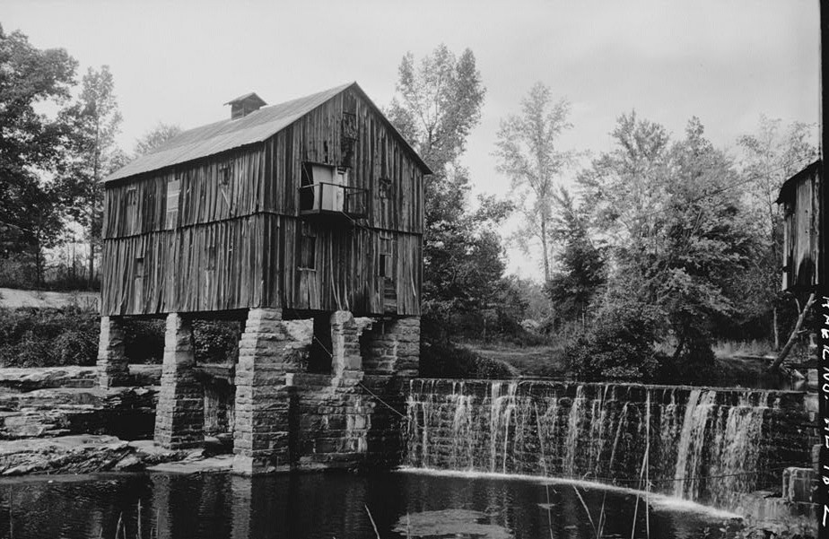 Boshell's Grist mill on Lost Creek