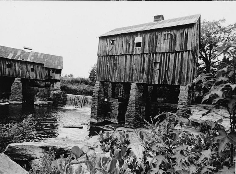 Boshell's Grist mill on Lost Creek southeast view