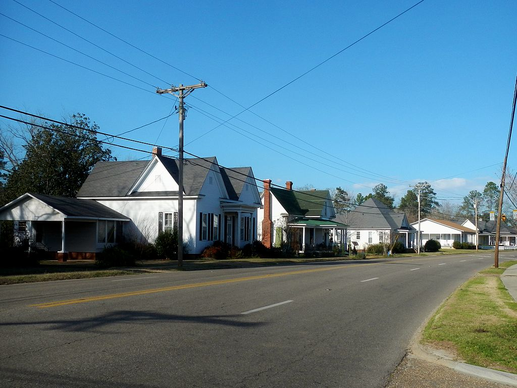 Brantley historic district