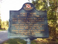 Actual letter describing the tragic events at Fort Mims with [films & pics]