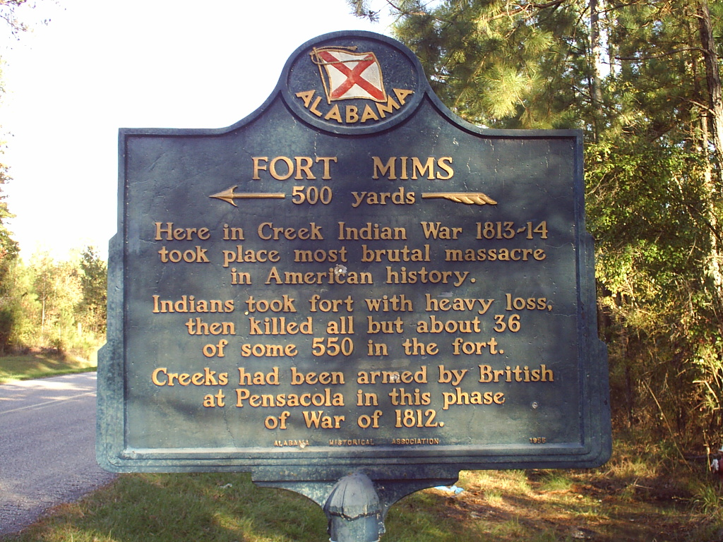 Original letter describing the tragic events at Fort Mims with [films & pics]
