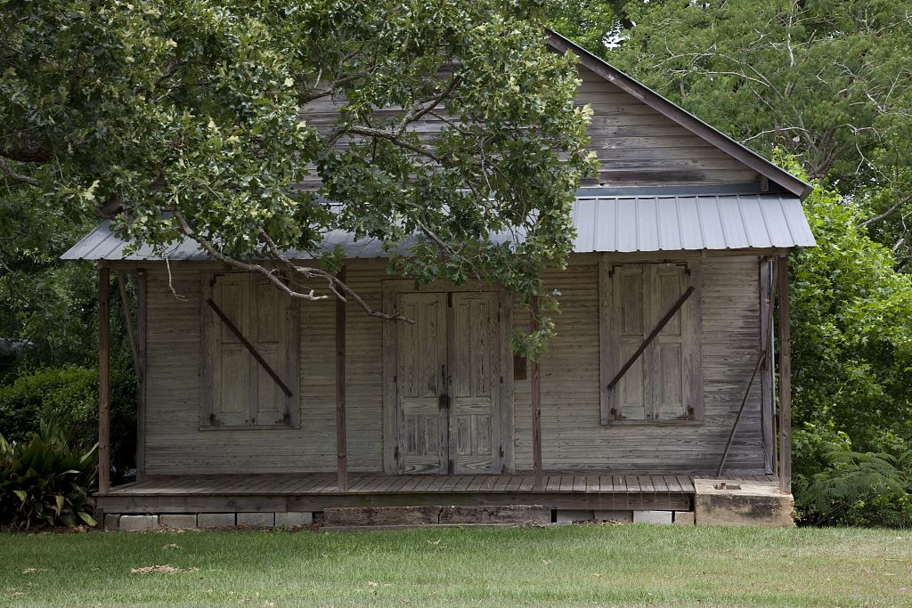 Historic buildings in Little River, Baldwin County, Alabama by photographer Carol Highsmith 2010