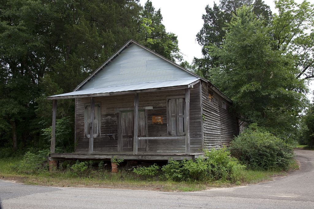 Historic buildings in Little River, Baldwin County, Alabama by photographer Carol Highsmith 20104