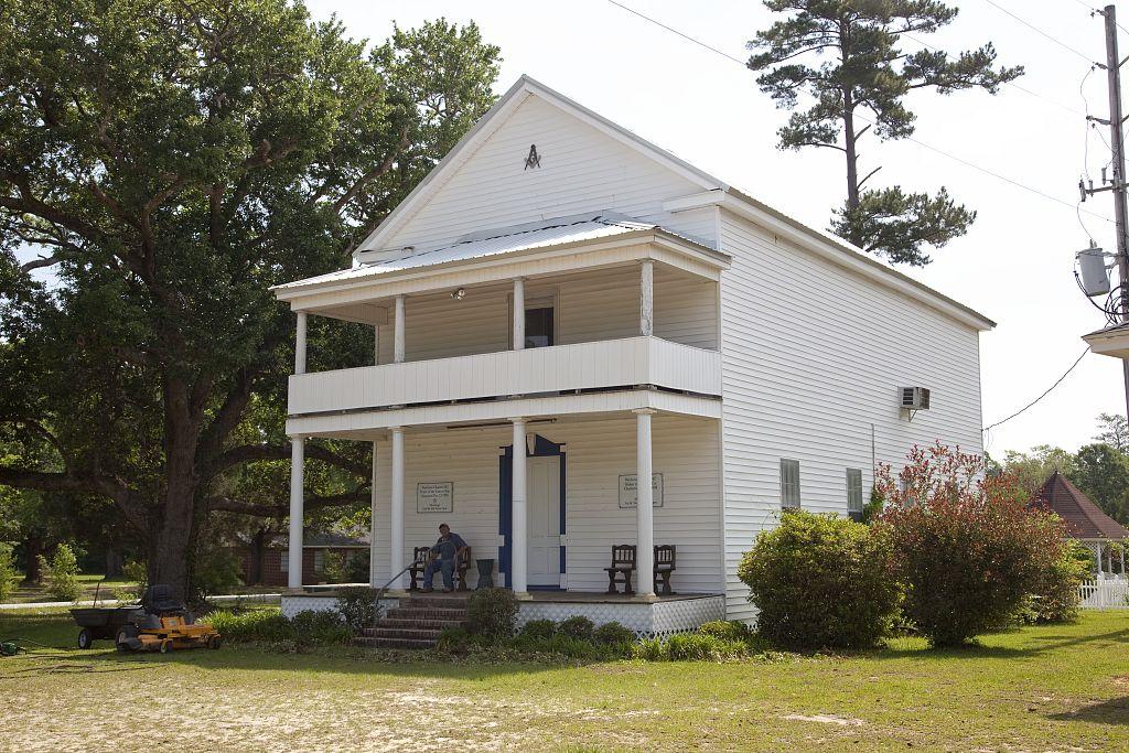 Historic buildings in Stockton, Alabama by Carol Highsmith 20102