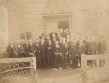 Rev. James Hall  – reports on the Old Presbyterian Church in Alabama prior to 1826 [old pictures]