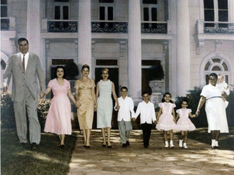 Jim Folsom family 1958