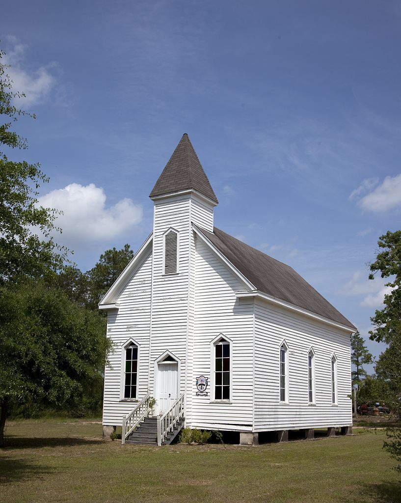 Montpelier Methodist Church, Stockton, Alabama by Carol Highsmith 2010