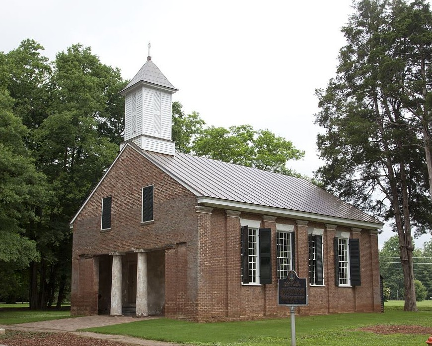 Mooresville brick church