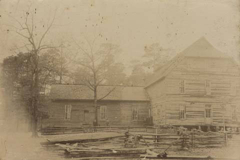 Reverend_J_H_B_Halls_school_in_Jefferson_County_Alabama