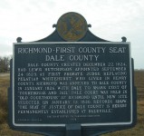 Dale County, Alabama – the county seat traveled between several cities before settling in Ozark
