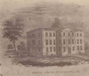 Patron+ Simpson Manuscript – The Legislature donated the Old Capitol building to the State University in Tuscaloosa.