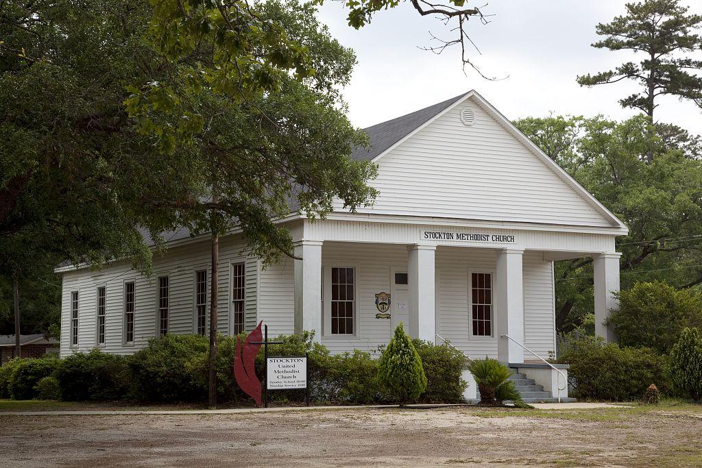 Stockton Methodist church by Carol Highsmith 2010