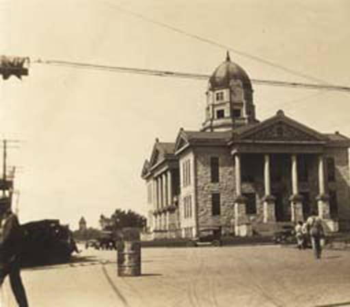 Walker County Courthouse ca. 1920 Alabama state archives