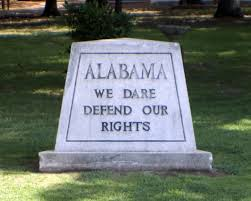 alabama monument we dare defend our rights