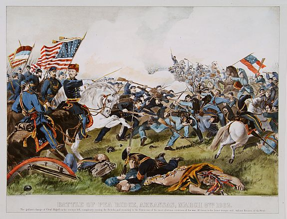 battle of pea ridge arkansas