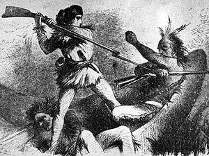 PATRON + Man Killed By Indians – War Threat