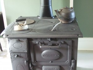 kettle and stove