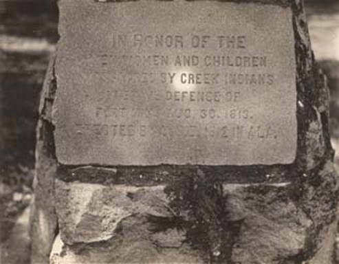 marker at fort mims