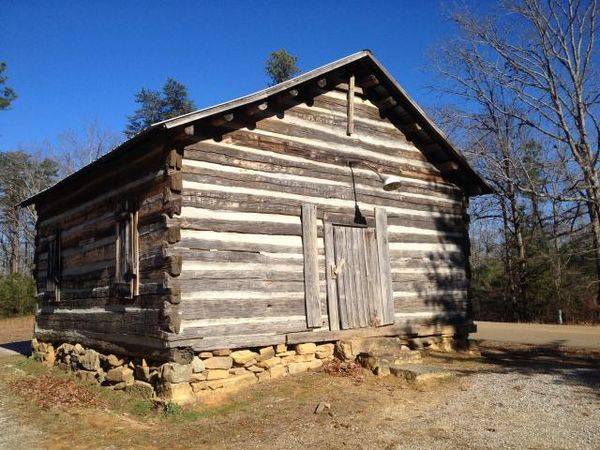 Presbyterian Ministers traveled in pairs in the wilds of early Alabama