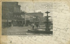 Eufaula – a beautiful historic city, has many historic houses still standing