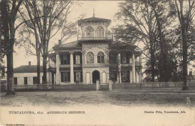 Drish House built 1837 in Tuscaloosa