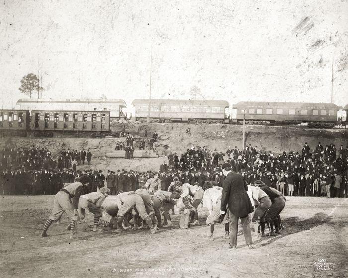 1895 Georgia-Auburn football Piedmont Park