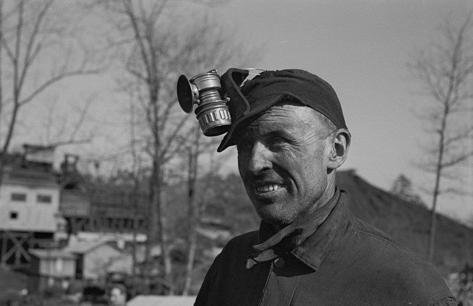 Alabama coal miner, Bankhead Mines, Walker County, Alabama by Arthur Rothstein 1937