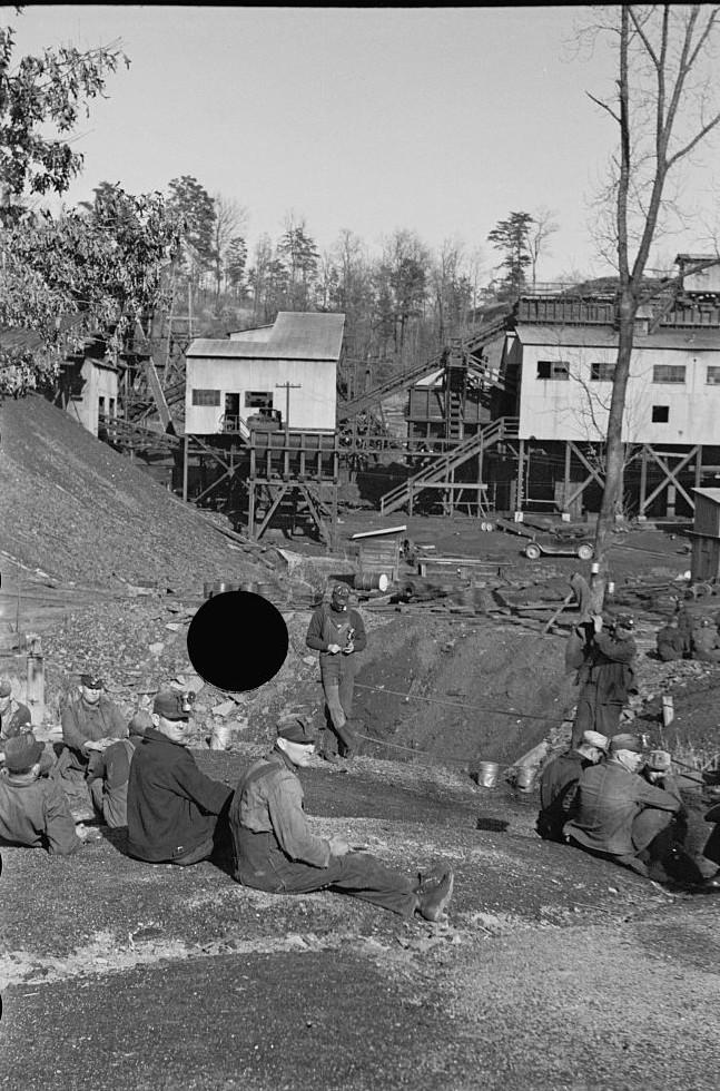 Alabama coal miner, Bankhead Mines, Walker County, Alabama by Arthur Rothstein3 1937
