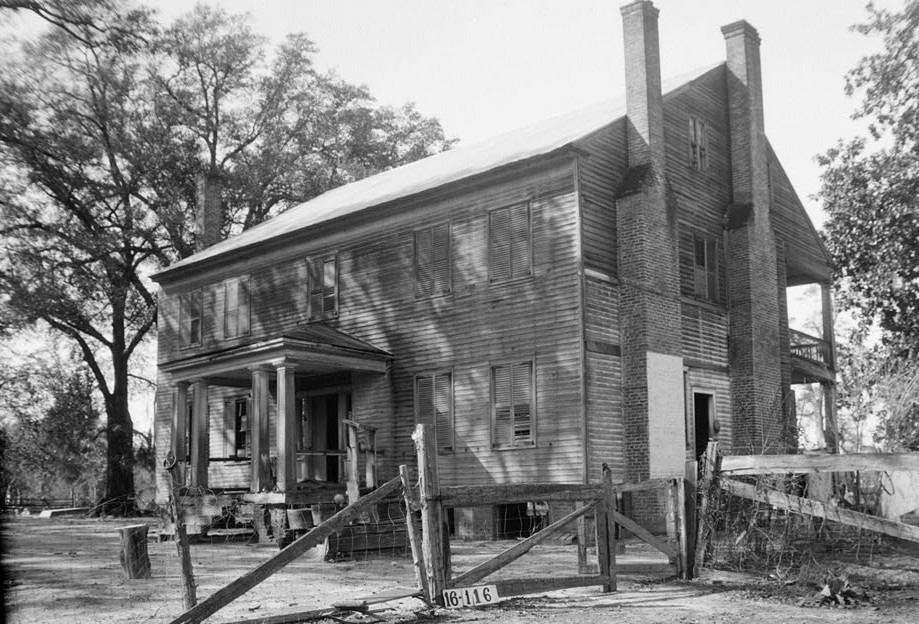 Atkinson-Till House, State Highway 59, Tensaw, Baldwin County, AL by photographer W. N. Manning 1939.jpg2
